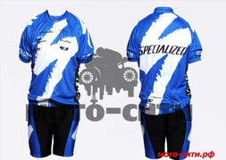 Велокостюм COOLMAX (mod:Specialized, size: L)